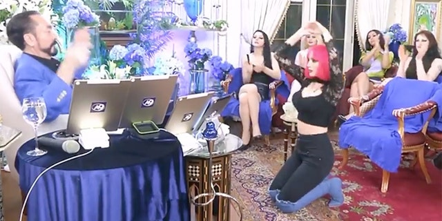 "Adnan Oktar, a controversial Turkish TV host known for giving his sermons while surrounded by a group of scantily clad women he called his ""kittens"" was arrested on Wednesday."
