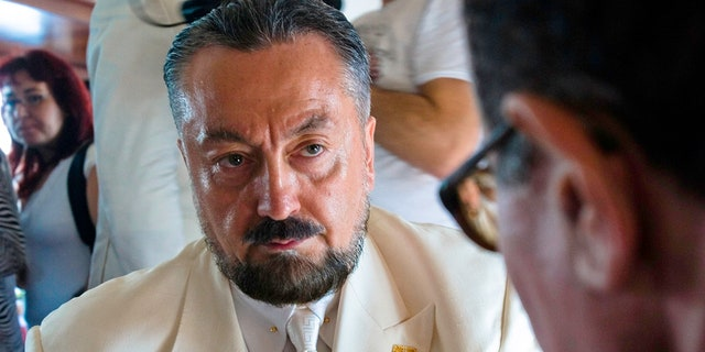 Adnan Oktar was arrested on Wednesday in Istanbul.
