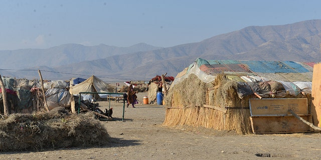 Several hundred families are living in the camp for returnees from Afghanistan.