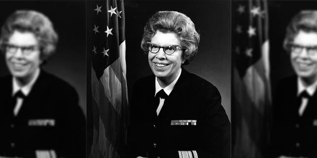 Rear Adm. Alene Duerk became the first woman to attain flag rank in the U.S. Navy on June 1, 1972.
