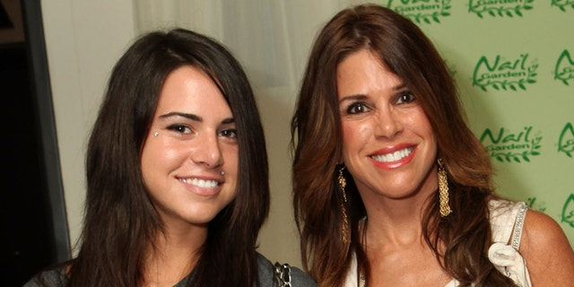 """Alexa Curtin, left, daughter of former """"Real Housewives of Orange County"""" star Lynne Curtin was reportedly arrested on drug charges and spent four days in jail."""