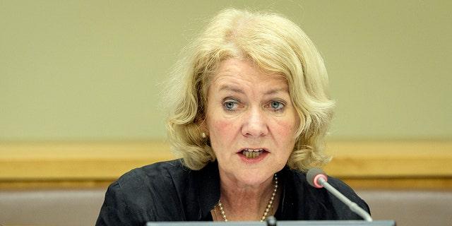 Alison Smale, Under-Secretary-General for Global Communications, will decide whether to make Matthew Lee's ban permanent.