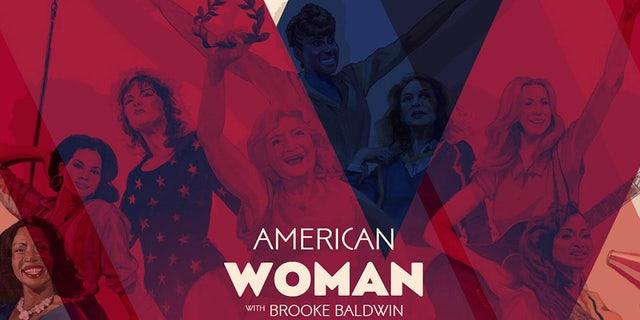 "CNN anchor Brooke Baldwin's ""American Woman"" launched on Jan. 3, 2018."