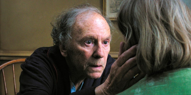 "This film image released by Sony Pictures Classics shows Jean-Louis Trintignant in a scene from the Austrian film, ""Amour."""