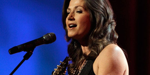 April 21: Singer Amy Grant performs at the Dove Awards.