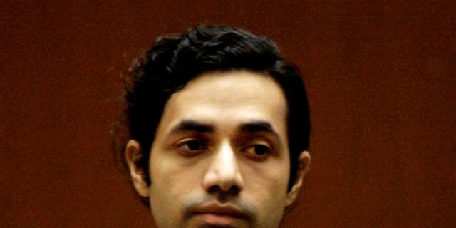 In this Nov. 13, 2008 file photo, fashion designer Anand Jon Alexander appears at his sexual assault trial in Los Angeles.