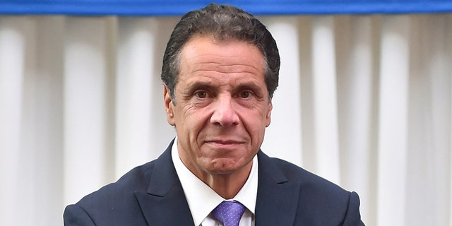 """""""We're not going to make America great again. It was never that great,"""" Cuomo told the crowd in New York."""