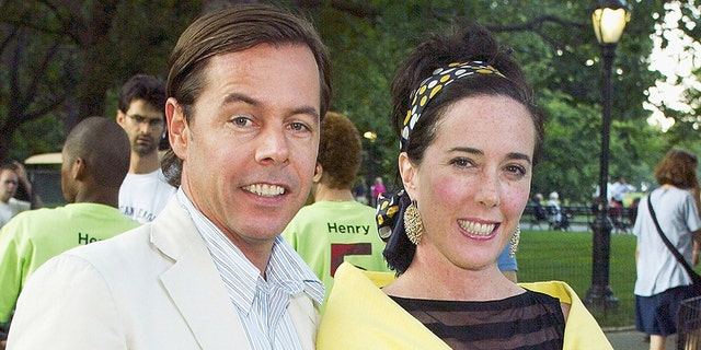 Andy and Kate Spade in 2003.