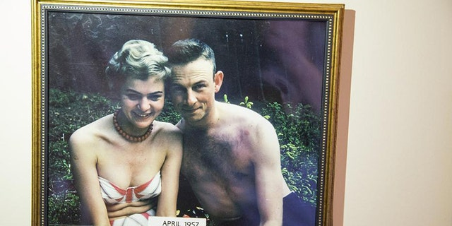 Andy Carver and his wife Brigitte were together for 59 years, four months, two weeks, 17 hours and 15 minutes.