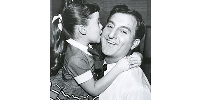Angela Cartwright with Danny Thomas.
