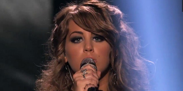 """Angie Miller, 18, performs on """"American Idol."""""""