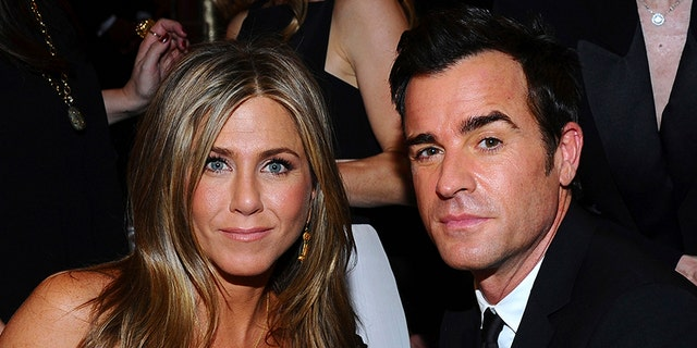 Aniston and her estranged husband, Justin Theroux.