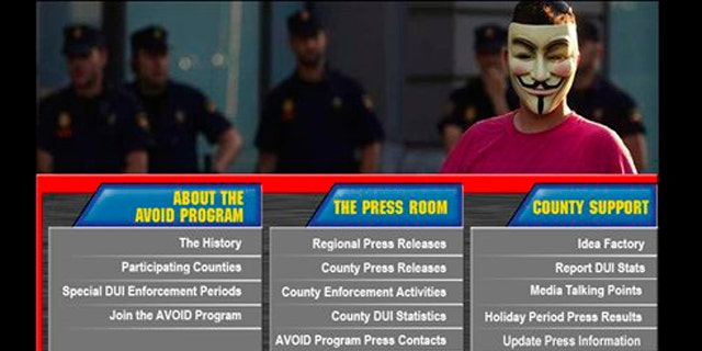 Hacker group Anonymous's latest target was the San Francisco BART website.