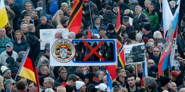 Resurgent German nationalism