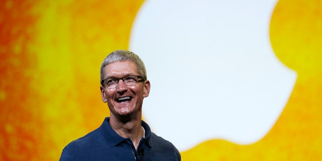 """Oct.  23, 2012: Apple CEO Tim Cook speaks during an event to announce new products in San Jose, Calif. Cook sought to assure shareholders Wednesday, Feb. 26, 2013, that the company is working on some """"great stuff"""" that may help reverse a sharp decline in its stock price."""
