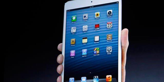 Apple iPad - file photo.