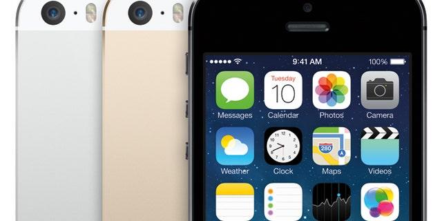Apple's new iPhone 5S.