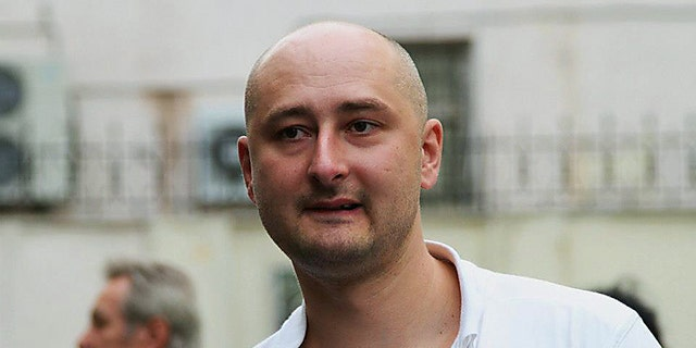 Hours before he was shot, Babchenko wrote on Facebook that he narrowly escaped death exactly four years ago when the Ukrainian military refused to take him on a helicopter heading to the front line in eastern Ukraine. The aircraft was shot down minutes later.