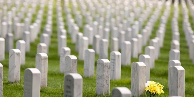 """The fragment of a leg bone was """"inadvertently"""" buried with the remains of an Army Reserve pilot killed in Vietnam. (Reuters)"""