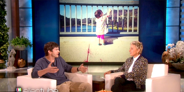 Ashton Kutcher made the donation on behalf of a tech company called Ripple.