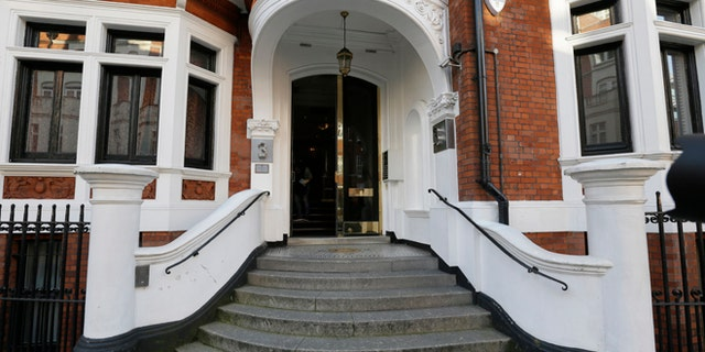 Assange has lived in the Ecuadorean embassy since 2012.