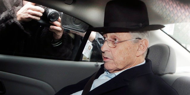 Jan. 22, 2015: New York Assembly Speaker Sheldon Silver is transported by federal agents to federal court in New York. Even after his arrest on federal corruption charges, Silver remains one of the most powerful politicians in New York.(AP Photo/Mark Lennihan, File)
