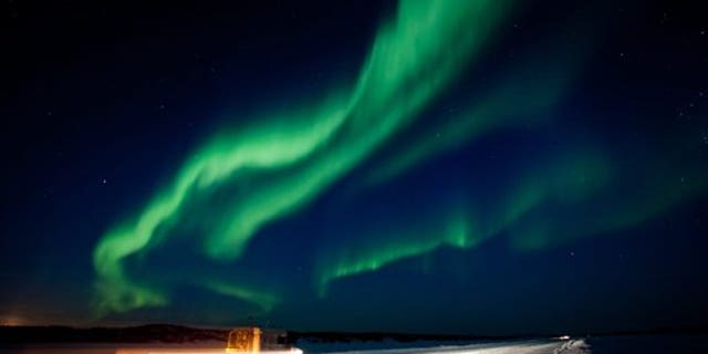 A large solar storm sent a huge wave of radiation into earth's atmosphere creating a brilliant show of the aurora borealis in March 2012.