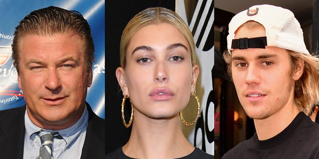 Alec Baldwin (left) had some words of wisdom for his niece Hailey Baldwin and Justin Bieber.