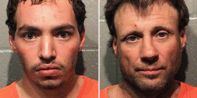 Kevin Garcia-Boettler, left, and Johnny Shane Barker were both charged in connection to the deaths.