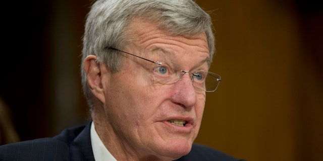 Jan. 28, 2014: Retiring Montana Sen. Max Baucus testifying on Capitol Hill in Washington before the Senate Foreign Relations Committee hearing on his nomination to become US ambassador to China.