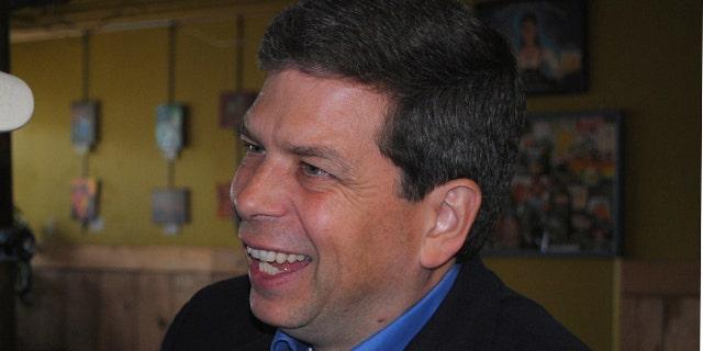 FILE: Oct. 1, 2014: Sen. Mark Begich, D-Alaska, at an event at the Kodiak Island Brewing Co. in Kodiak, Alaska.
