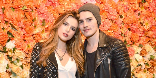 LOS ANGELES, CALIFORNIA - APRIL 01:  Bella Thorne and Gregg Sulkin attend the boohoo.com Flagship LA Pop Up Store with opening party fueled by CIROC Ultra-Premium Vodka on April 1, 2016 in Los Angeles, California.  (Photo by Araya Diaz/Getty Images for Paul Wilmot )