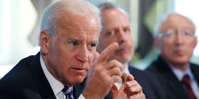 U.S. Vice President Joe Biden speaks during a meeting on curbing gun violence at the White House in Washington January 10, 2013.