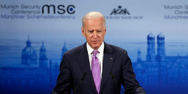 Feb. 7, 2015: Vice President Joe Biden at the 51. Security Conference  in Munich, Germany.