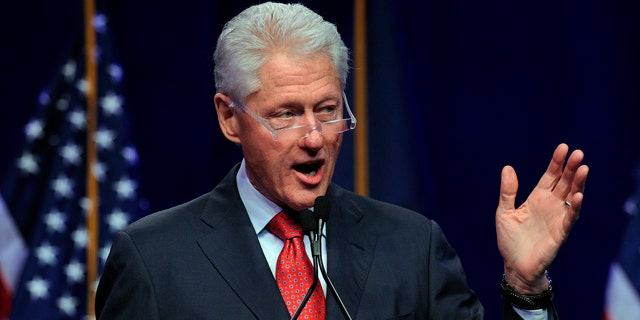 Former President Bill Clinton has kept silent since the premiere of 'Impeachment'.