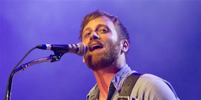 Dan Auerbach from The Black Keys performs at Lollapalooza in Chicago's Grant Park.