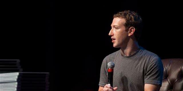 Mark Zuckerberg in a file photo.