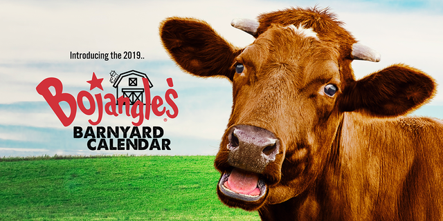 Bojangles' will offer a free, printable calendar in 2018 with coupons for customers who sign up.