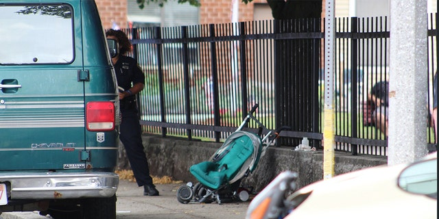 """""""A tragic accident here in South Boston,"""" Boston Police Commissioner Bill Evans said. """"Our heart goes out to the parents, obviously. A terrible tragedy. It's everybody's worst nightmare."""""""