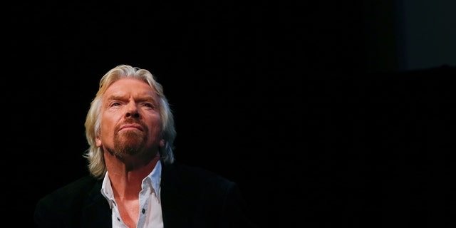 File photo of Sir Richard Branson.