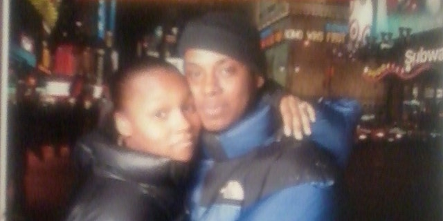This undated photo, provided by a family member, shows 28-year-old Fernando Brazier with his sister, Shawna Weeks.