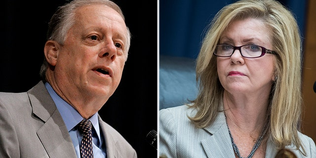 Phil Bredesen, left, and Marsha Blackburn, right, are facing off in a key Senate fight in Tennessee in November.