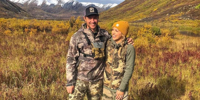 Brent and his wife, another avid hunter, are open about their hunting lifestyle.