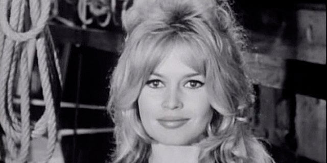 "Brigitte Bardot became a sex icon following her role in the 1957 film ""And God Created Woman."""