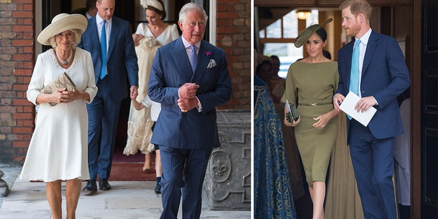 Guests included Prince Charles and his wife, Camilla, as well as Prince Harry and Meghan Markle. (Matt Holyoak, Camera Press)