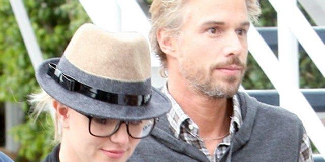 Britney Spears and boyfriend Jason Trawick