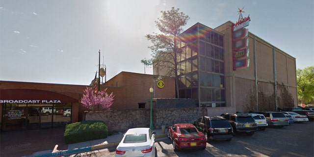 """A CBS affiliate in Albuquerque canceled its scheduled evening newscasts on Sunday after an """"intruder"""" entered the building and walked onto the station's news set."""