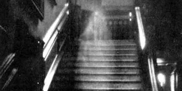 """""""The Brown Lady,"""" one of the most famous photos ever taken, is often cited as photographic evidence of ghosts. But is it real?"""