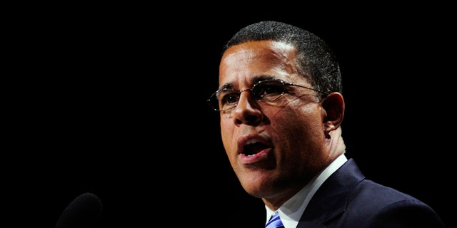 FILE: July 15, 2013: Maryland Lt. Gov. Anthony Brown at an NAACP convention in Orlando, Fla.