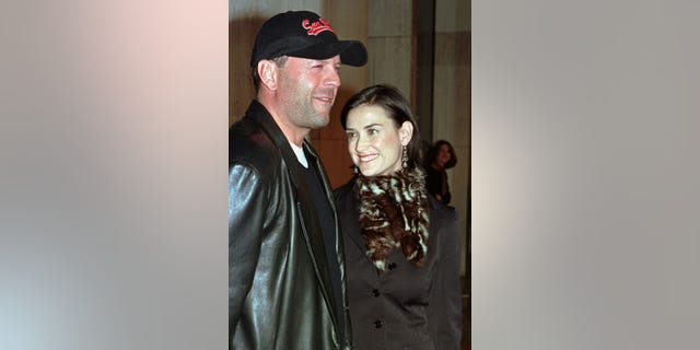 Bruce Willis and Demi Moore were married from 1987-2000. They share three daughters.